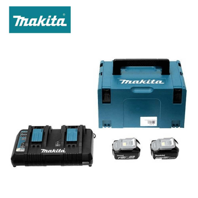 Pack énergie 2 batteries 5Ah + 1 chargeur - MAKITA